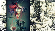 Collage Artworks in the ArtHouse